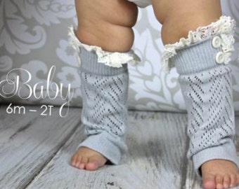 Baby leg warmers, Toddler leg warmers