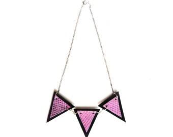 Trianthem Banner Necklace