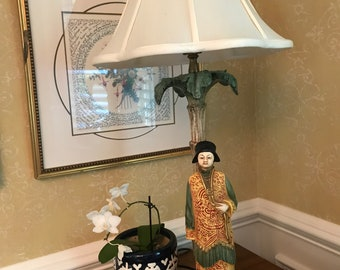 Detailed Asian themed lamp