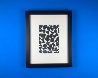 Block Printed Pattern- Art Print