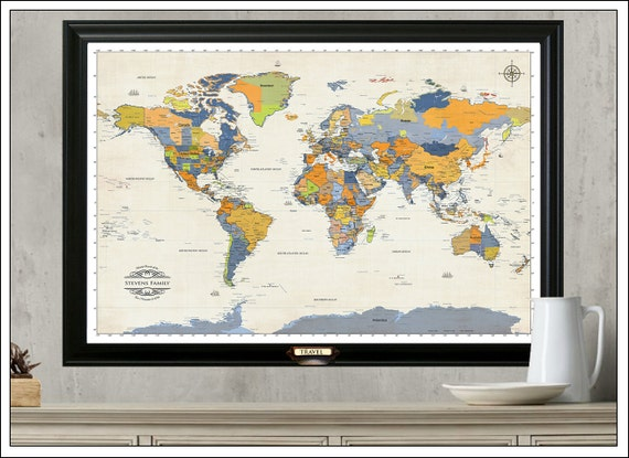 World travel map push pin travel mapamed or hanging travel world travel map push pin travel mapamed or hanging travel map with set of push pins modern world map map 501 gumiabroncs Gallery