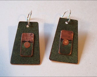Maine State House Copper Roof Earrings - Limited Edition AR