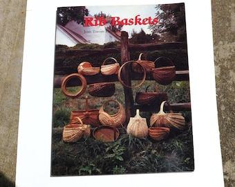 Vintage Rib Baskets Book by Jean Turner Finley - 1987 - from DustyMillerAntiques