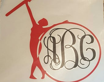 Color Guard Car Decal, Marching Band Decal
