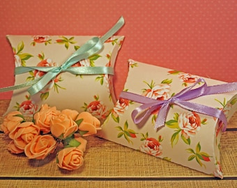 Cherry (pillow box) shabby chic theme boxes
