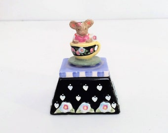 Mouse Trinket Box, Ring Box
