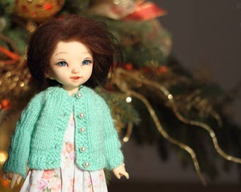 Knitted cardigan for 1/6 YOSD bjd dolls LittleFee
