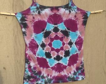 Women's Tie-Dye Mandala Tank