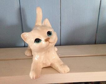 Vintage Lefton china cat