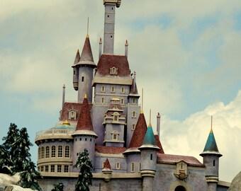 Disney World Magic Kingdom Beasts Castle Magnet-READY TO SHIP