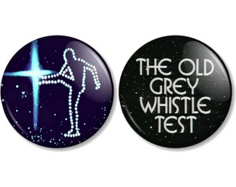 """The Old Grey Whistle Test 25mm / 1"""" (1 inch) Pin Button Badges"""