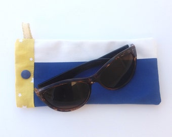 """Beach Lounger"" glasses case"
