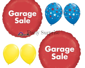 Garage Sale balloons Garage Sale Advertising Balloons