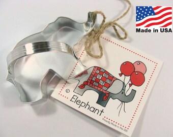 Elephant Cookie Cutter by Ann Clark