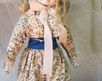 Creepy Art Doll Prairie Ghost