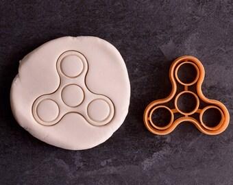 Handspinner cookie cutter - Fidget hand spinner cookie cutter - Fidget cookie cutter