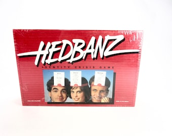 Vintage Sealed HEDBANZ Identity Crisis Game - 1991 - The Games Gang Limited