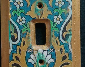 Moroccan inspired Light Switch cover