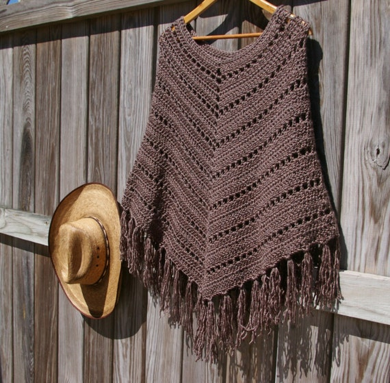 Crochet Pattern Boho Poncho Pattern, Crochet Poncho Pattern, Instant ...