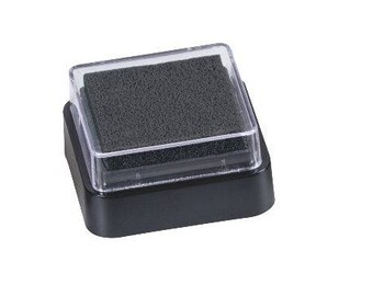 Pad for rubber stamps new black case