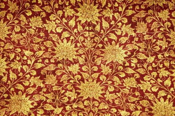 Waverly Sable Ridge Home Decor Fabric, MERLOT, Fabric By The Yard, Wine  Floral Print Drapery Fabric, Decorative Cotton Fabric Yardage From ...