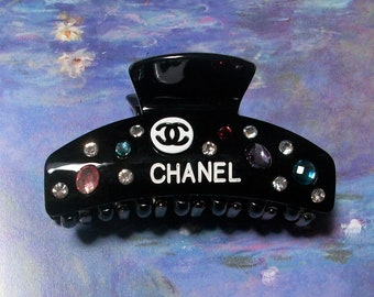 Couture Hair Claw Tie Crystals Flower Stones   Four Styles ~  YoU pick!!