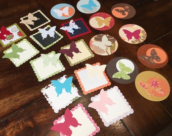 20 Butterfly accents