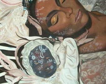 Voodoo Dreams - Original Oil Painting on stretchered canvas by International artist Allen Richings