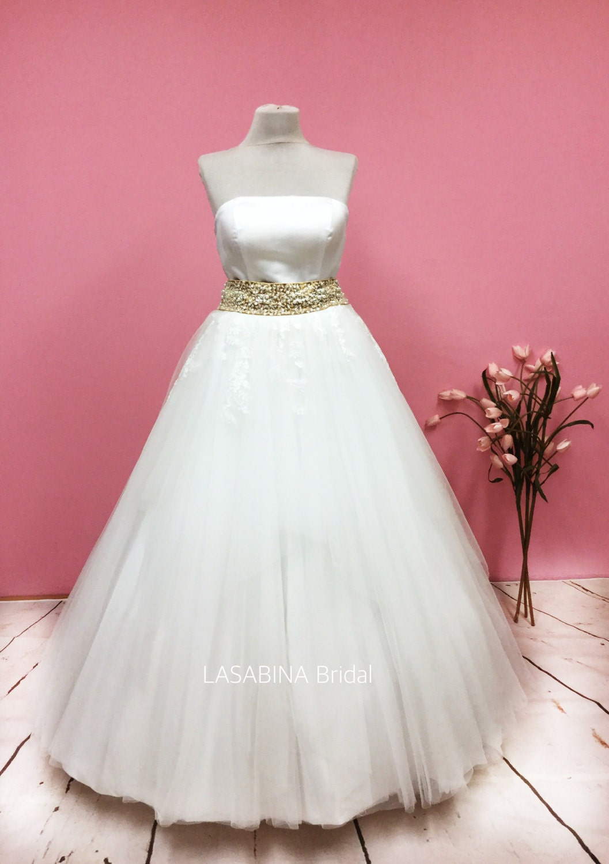 Único Vestidos Novia Princesa Festooning - Colección de Vestidos de ...