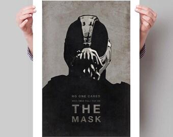 "BATMAN The Dark Knight Rises Inspired Bane Movie Poster Print - 13""x19"" (33x48 cm)"