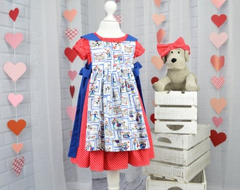 Girls Dress and Pinafore, Girls dress, Girls Pinafore Dress, Girls headband, Girls  dress and Headband, Girls Dresses, Girls Clothes
