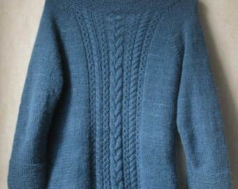 PATTERN: Chunky Cabled Cardigan