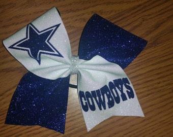 Dallas Cowboys cheer bow