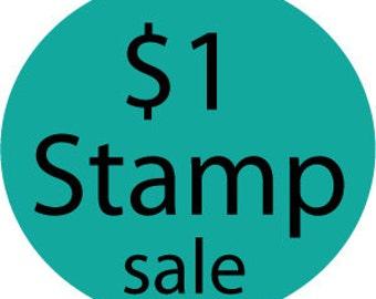 Tiny custom clear stamp sale