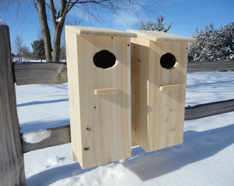 2 pack Wood duck nesting boxes