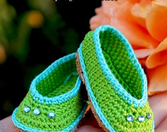 PDF Doll Shoes Crochet Pattern for Paola Reina-type dolls By Kasatka Dolls Fashions