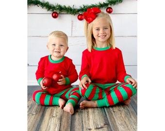 Christmas PJ Preorder (Monogrammed)