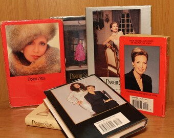 Danielle Steel Novels ~ 1st Editions ~ Hardcovers w/Dust Jackets ~ Best Selling Author Alive ~ Collectible 6 Book Collection