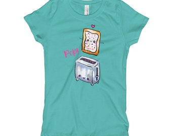 Pop Tart Shirt for Girls, Girl's T-Shirt