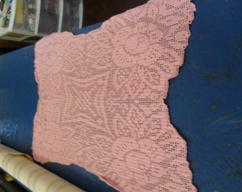 Large Pink Doily