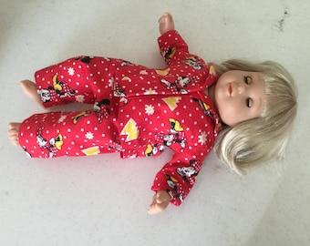 15 inch doll pajamas