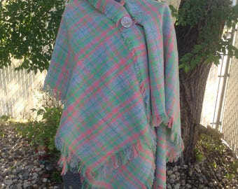 Ladies Poncho Wrap