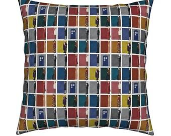 Doctor Who Cushion Cover-Tardis Cushion Cover-Dalek Cushion Cover