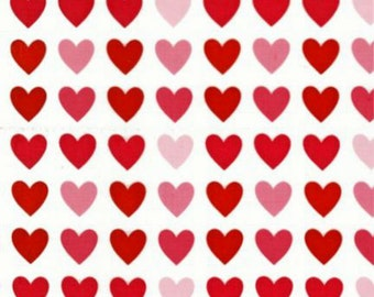 Robert Kaufman Remix by Ann Kelle Hearts in Sweet by the Yard