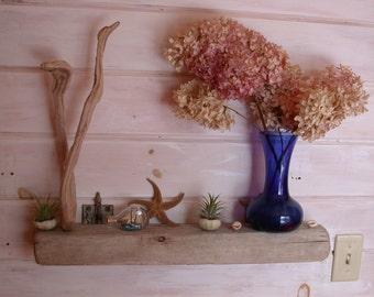 Driftwood Shelf + Sculpture