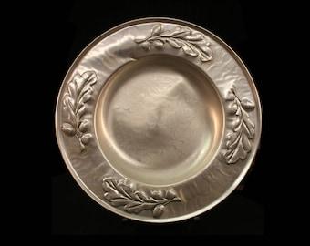 Vintage Aluminum Platter, Silver