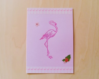 Card flamingo all occasions