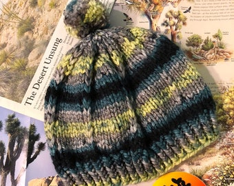 Joshua Tree National Park Pom-pom Tree Beanie