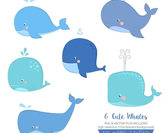 Baby shower whale Etsy
