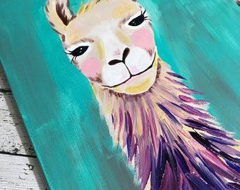 Happy Llama